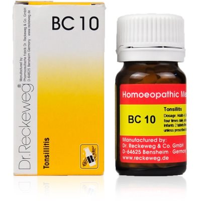 Buy Dr. Reckeweg Bio Combination 10 - Enlarged Tonsils online Australia [ AU ]