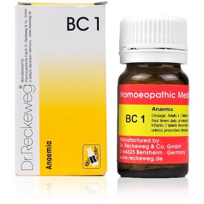 Buy Dr. Reckeweg Bio Combination 1 - Anaemia online Switzerland [ CH ]