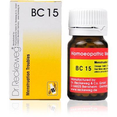 Buy Dr. Reckeweg Bio Combination 15 - Menstruation Troubles online New Zealand [ NZ ]