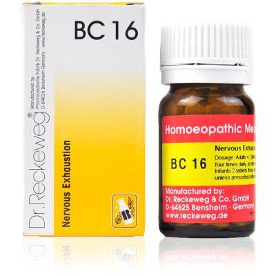 Buy Dr. Reckeweg Bio Combination 16 - Nervous Exhaustion online Australia [ AU ]