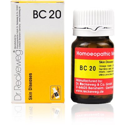Buy Dr. Reckeweg Bio Combination 20 - Skin Diseases online Switzerland [ CH ]