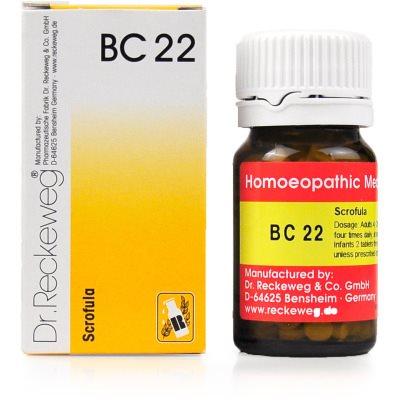 Buy Dr. Reckeweg Bio Combination 22 - Scrofula online United States of America [ USA ]