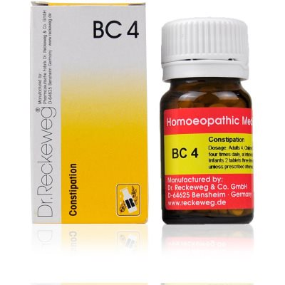 Buy Dr. Reckeweg Bio Combination 4 - Constipation online Australia [ AU ]