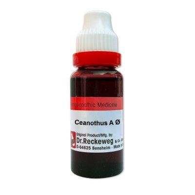 Buy Dr. Reckeweg Ceanothus Americanus Q online United Kingdom [ UK ]