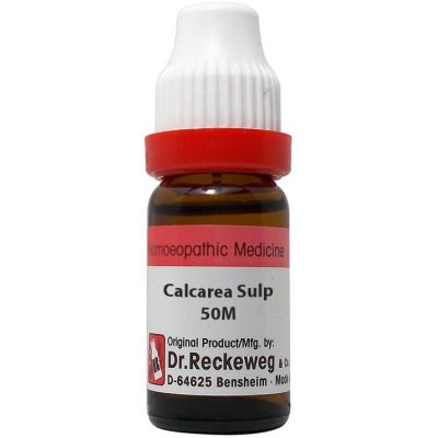 Buy Dr. Reckeweg Calcarea Sulphuricum 50M CH online New Zealand [ NZ ]