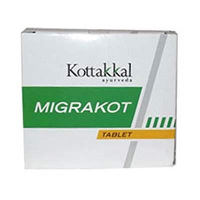 Buy Kottakkal Ayurveda Migrakot Tablet online Belgium [ BE ]