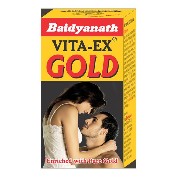 Buy Baidyanath Vita Ex Gold Capsule online United States of America [ USA ]