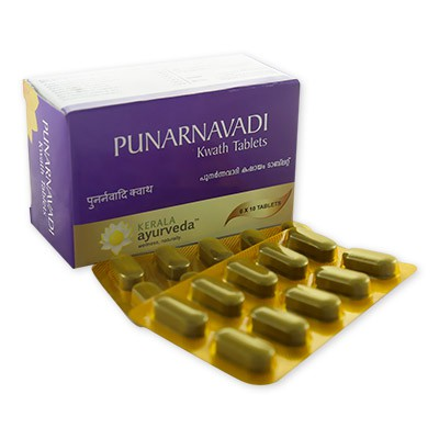 Buy Kerala Ayurveda Punarnavadi Kwath Tablet online United States of America [ USA ]