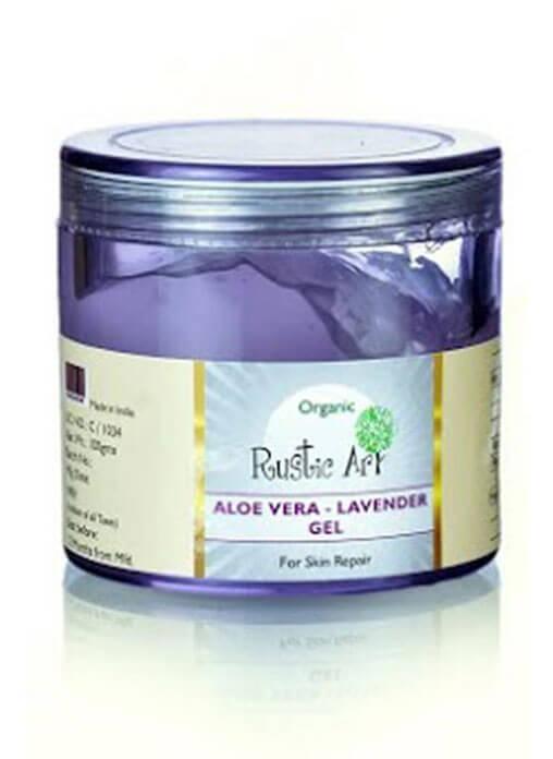 Buy Rustic Art Organic Aloe Vera - Lavender Gel online Malasiya [ MY ]