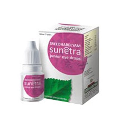 Buy Sreedhareeyam AyurvedicSunetra Junior Eye Drops online Australia [ AU ]