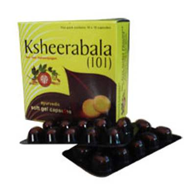 Buy AVP Ksheerabala 101 Soft Gel Capsules online Switzerland [ CH ]