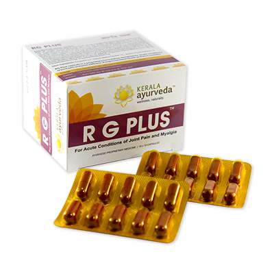 Buy Kerala Ayurveda RG Plus Capsules online Switzerland [ CH ]