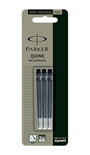 Buy Parker Quink Ink Cartridges - Fountain Pen - Black online Switzerland [ CH ]
