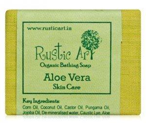 Buy Rustic Art Aloe Vera Soap online Australia [ AU ]