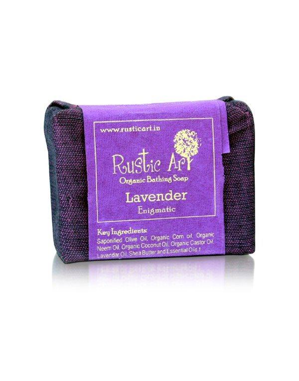 Buy Rustic Art Lavendar Organic Soap online Nederland [ NL ]