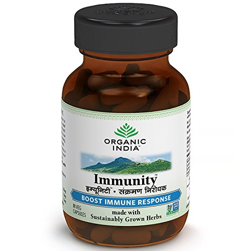 Buy Organic India Immunity 60 Capsules Bottle online Singapore [ SG ]