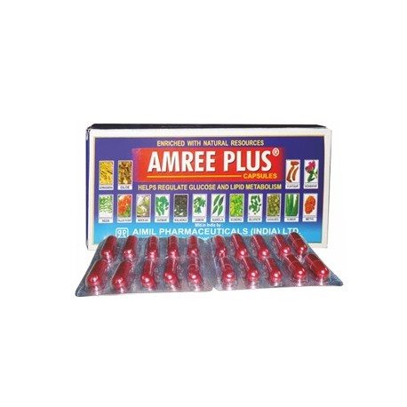 Buy Aimil Amree Plus Capsules online Belgium [ BE ]