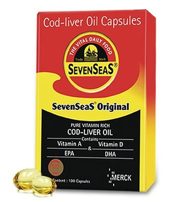Buy Seacod Cod Liver Oil Capsules online Switzerland [ CH ]