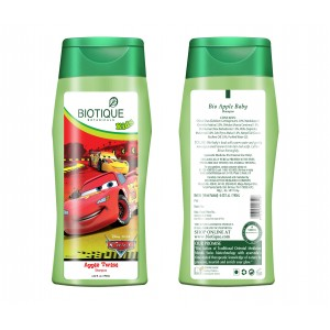 Buy Biotique Disney Baby Boy Bio Apple Twist Shampoo online Australia [ AU ]
