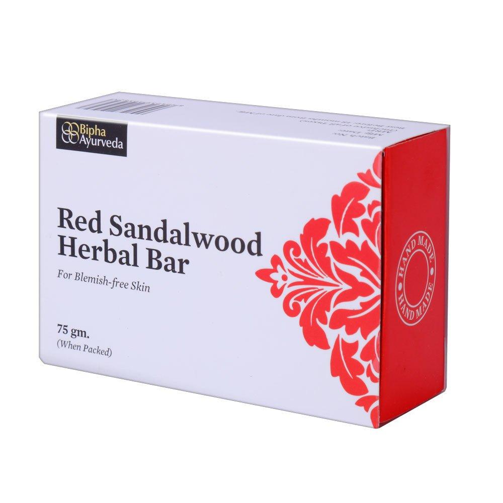 Buy Bipha Ayurveda Red Sandal Wood Bar online United States of America [ USA ]