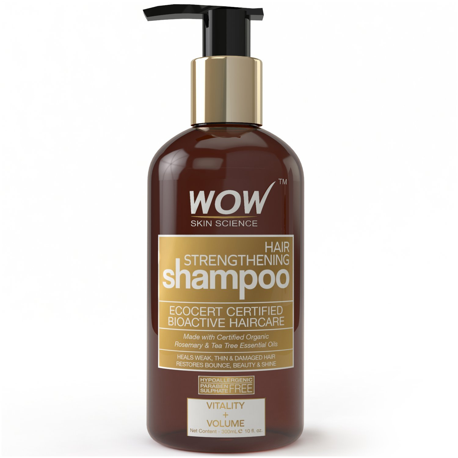 Buy Wow Organics Hair Strenghtening Shampoo online United States of America [ USA ]