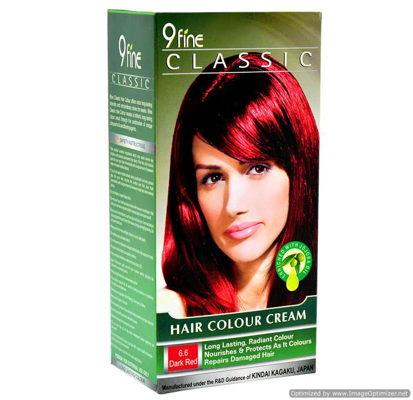 Buy 9Fine Classic Hair Color Cream-6.6 Dark Red online United States of America [ USA ]