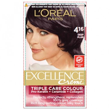 Buy L'Oreal Paris Excellence Cream Triple Care Colour #4.16 - Deep Plum online Switzerland [ CH ]