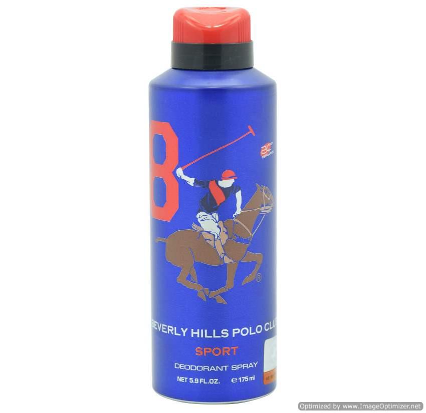 Buy Beverly Hills Polo Club Deodorant Spray Sport No-8 online Switzerland [ CH ]