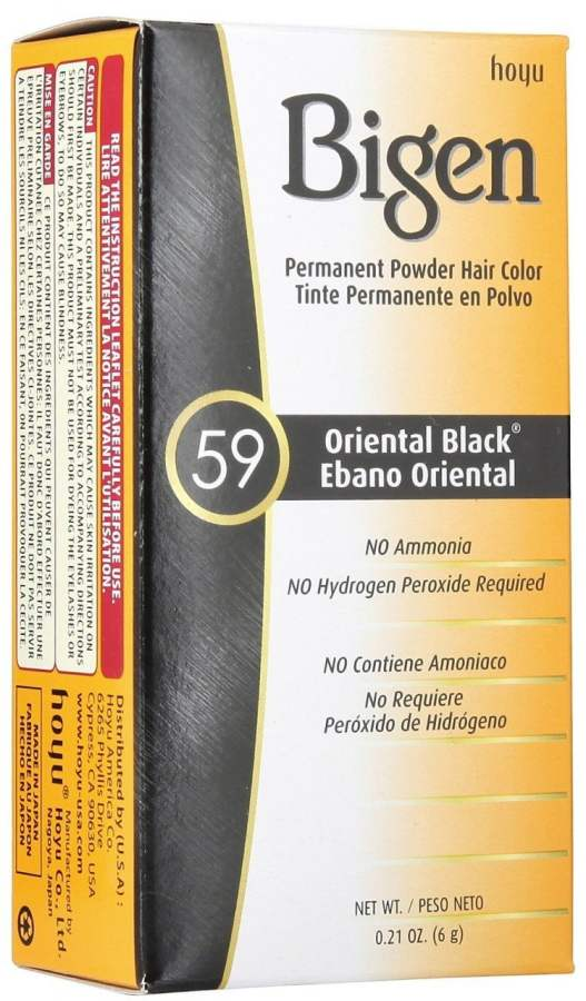 Buy Bigen Powder Hair Color - Oriental Black online United States of America [ USA ]