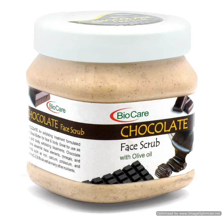 Buy BioCare Chocolate Face Scrub online Switzerland [ CH ]