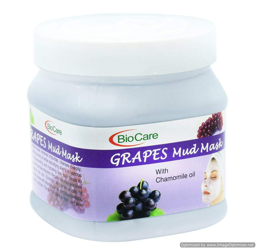 Buy BioCare Grapes Mud Mask with Chamomile Oil online Nederland [ NL ]