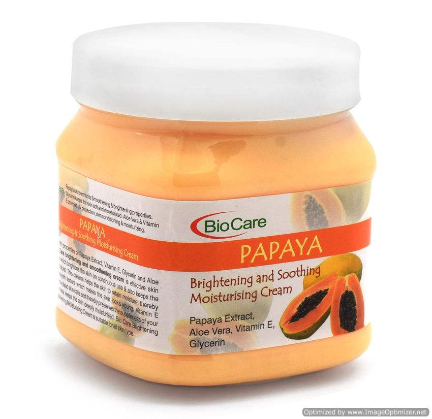 Buy BioCare Papaya Brightening and Soothing Moisturising Cream online New Zealand [ NZ ]