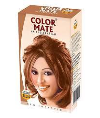 Buy Color Mate Hair Color Cream-Golden Copper 8.34 online Switzerland [ CH ]