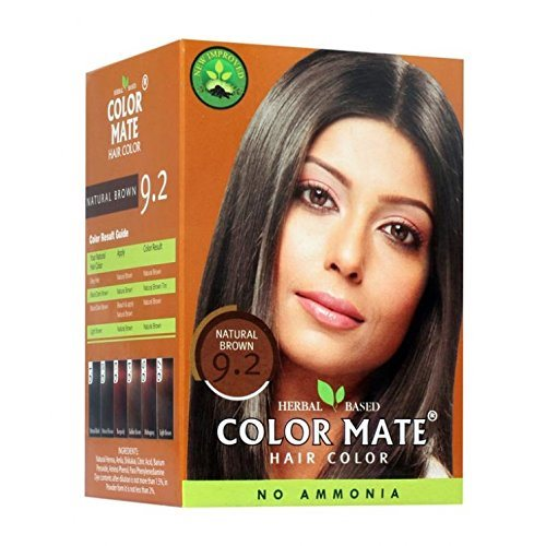 Buy Color Mate Hair Color Powder-Natural Brown 9.2 online United States of America [ USA ]