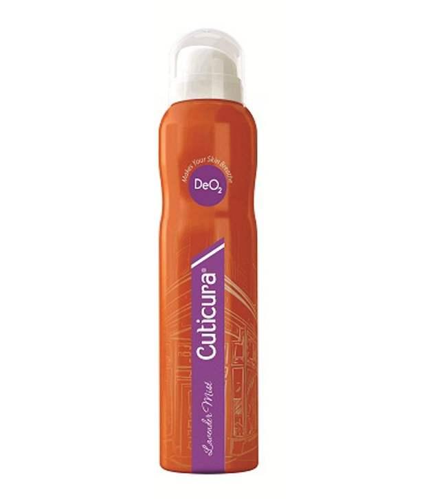 Buy Cuticura Lavender Mist Body Spray online New Zealand [ NZ ]