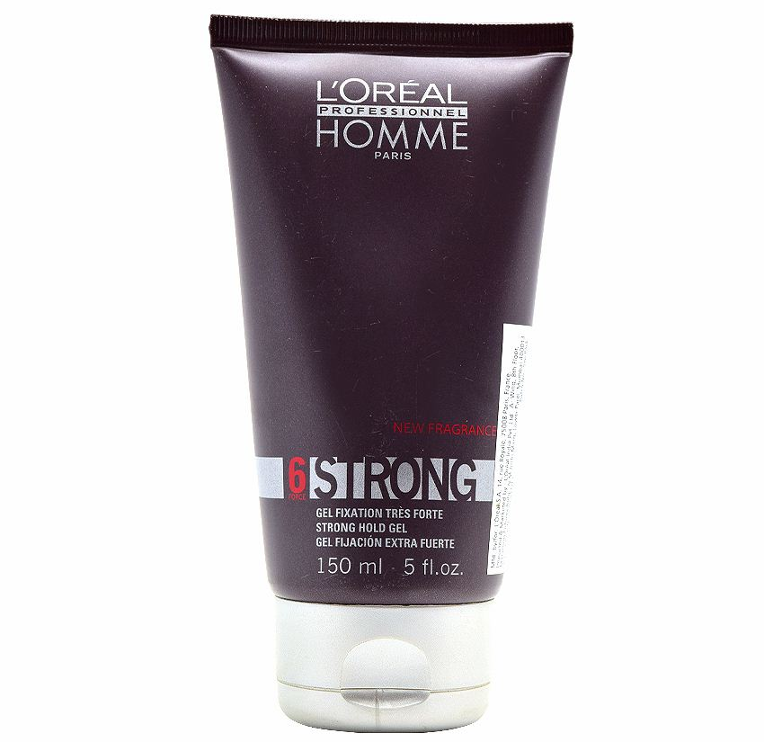 Buy LOreal Professionnel Homme Strong 6-Strong Hold Gel online Australia [ AU ]