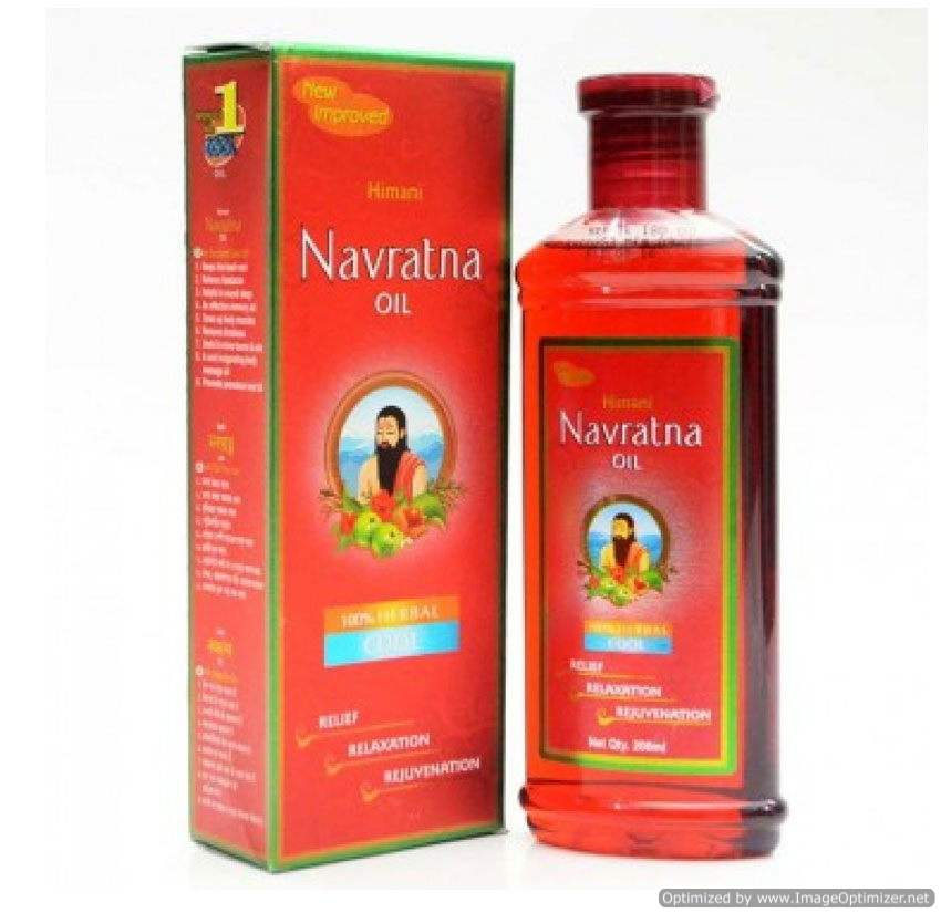 Buy Navratna Ayurvedic Cooling Oil online New Zealand [ NZ ]