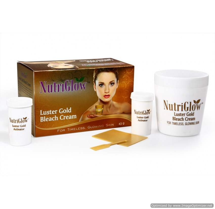Buy NutriGlow Luster Gold Bleach online New Zealand [ NZ ]