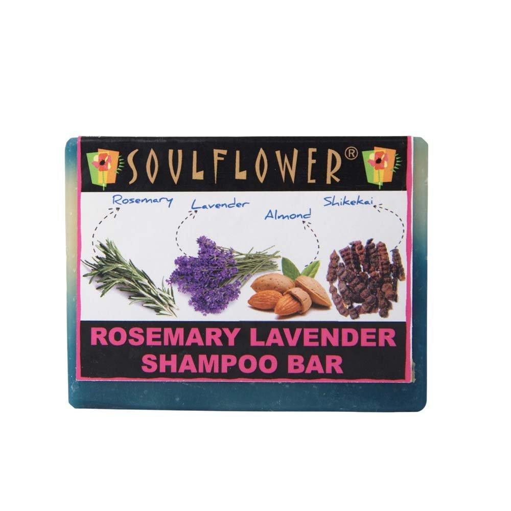 Buy Soulflower Rosemary Lavender Shampoo Bar online Malasiya [ MY ]