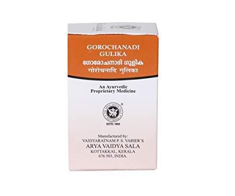 Buy Kottakkal Ayurveda Gorochanadi Gulika Tablets online Singapore [ SG ]