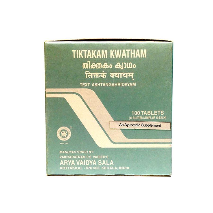 Buy Kottakkal Ayurveda Tiktakam Kwatham Tablet online Germany [ DE ]