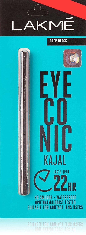 Buy Lakme Eyeconic Kajal Deep Black online United States of America [ USA ]