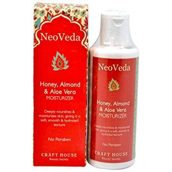 Buy NeoVeda Honey, Almond And Aloe Vera Moisturizer online Nederland [ NL ]
