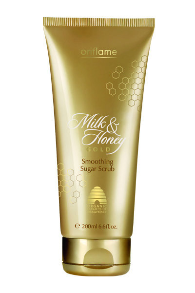 Buy Oriflame Milk and Honey Gold Smoothing Suger Scrub online Italy [ IT ]