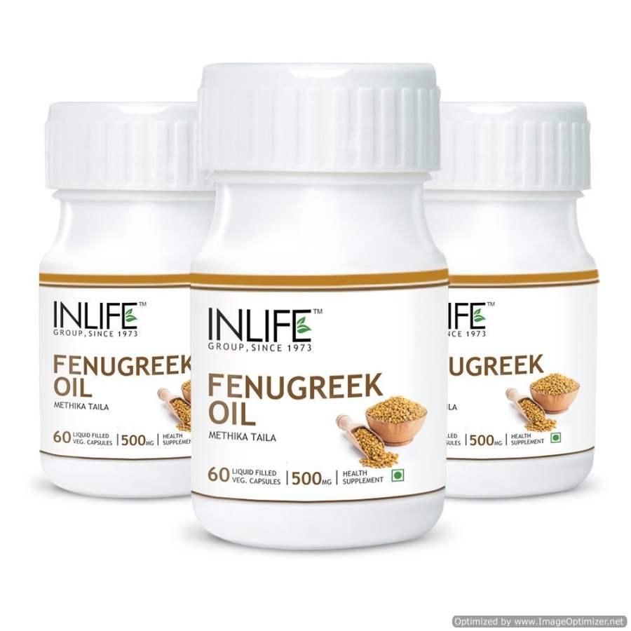 Buy INLIFE Fenugreek Oil Capsules online Italy [ IT ]