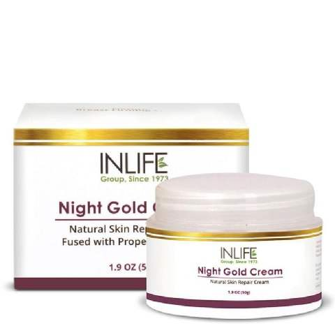 Buy INLIFE Night Gold Fairness Cream online United States of America [ USA ]