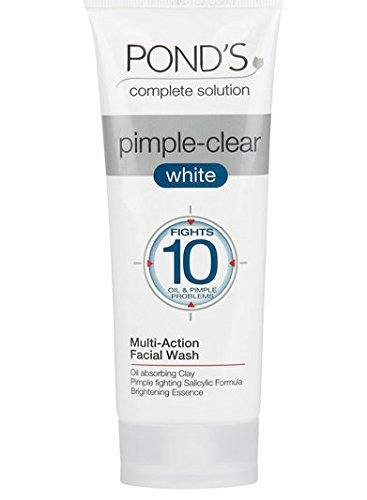 Buy POND'S Pimple Clear White Multi Action Face Wash online Italy [ IT ]