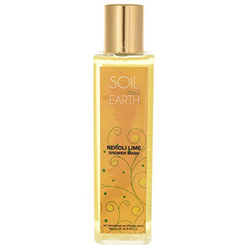 Buy Soil and Earth neroli lime Shower Wash online Switzerland [ CH ]