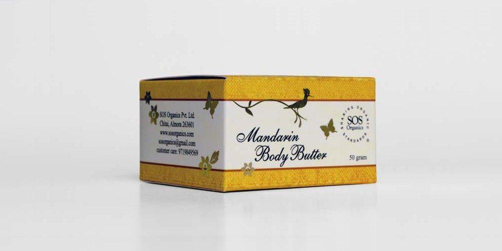 Buy SOS Organics Mandarin Body Butter lotion online Australia [ AU ]