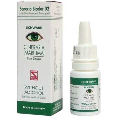 Buy Schwabe Homeopathy Cineraria Maritima Eye Drops Without Alcohol online Australia [ AU ]